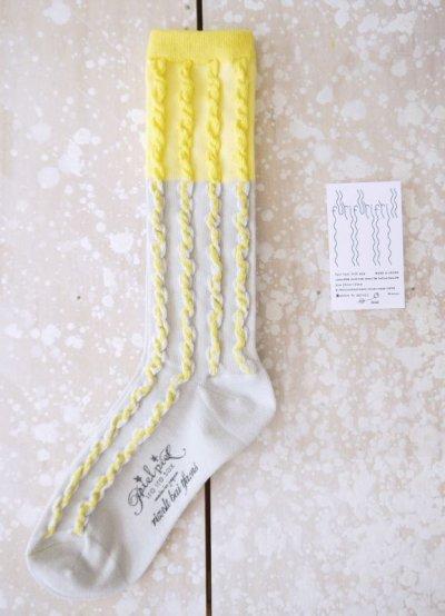 画像1: furifurifrill sox(Yellow)
