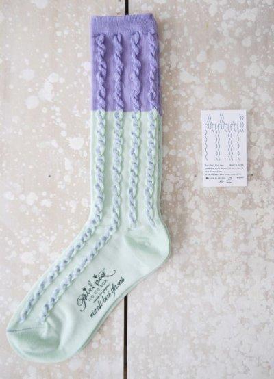 画像1: furifurifrill sox(Purple)
