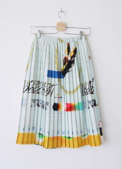 画像1: NOBODY両A面プリーツスカート